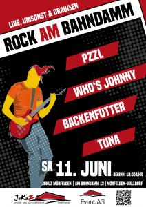Plakat - Rock am Bahndamm 2016